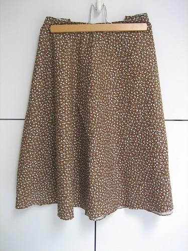 My first skirt