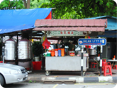 Herbal soup stall