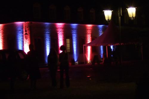 Schloss Gymnicch lädt zum Tanzen.