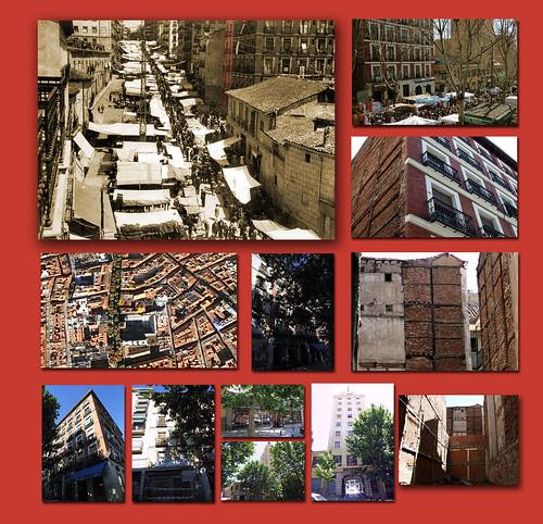 Transformación de la calle Ribera de Curtidores, Madrid  (El Rastro)