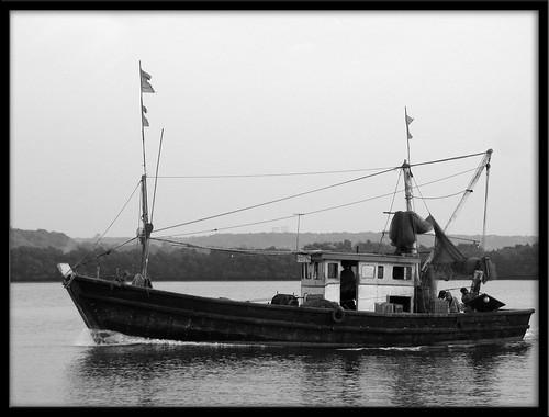 Fishing Boat at Mirya