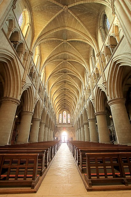 A Catholic Wedding, Making To Heaven - Norwich Catholic Cathedral Nave