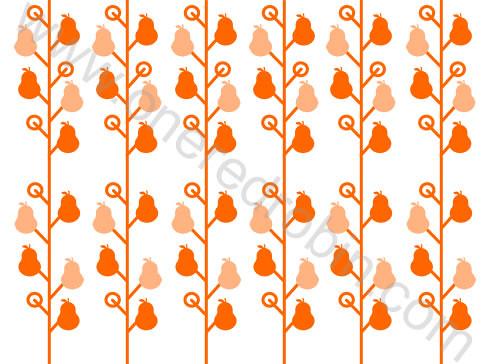 """""""Pear Tree"""" Pattern by j.m.aranez."""