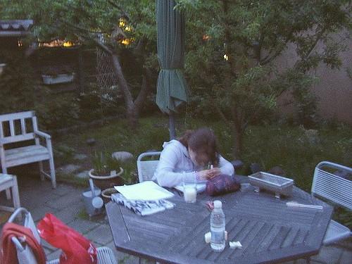 lektier i haven