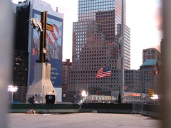 The cross on the World Trade Centre site
