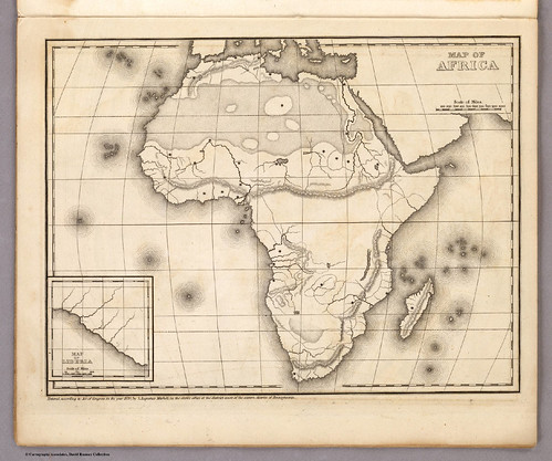 Ouline Map of Africa - S-Mitchell_Phila_1839