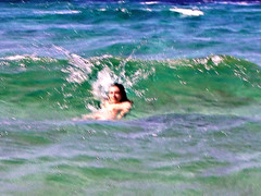 Ikaria 037 (isl_gr (away on an odyssey)) Tags: ikaria icaria  island aegean waterdreams actionshot freedom waves meltemi beautyconcealed september replacement