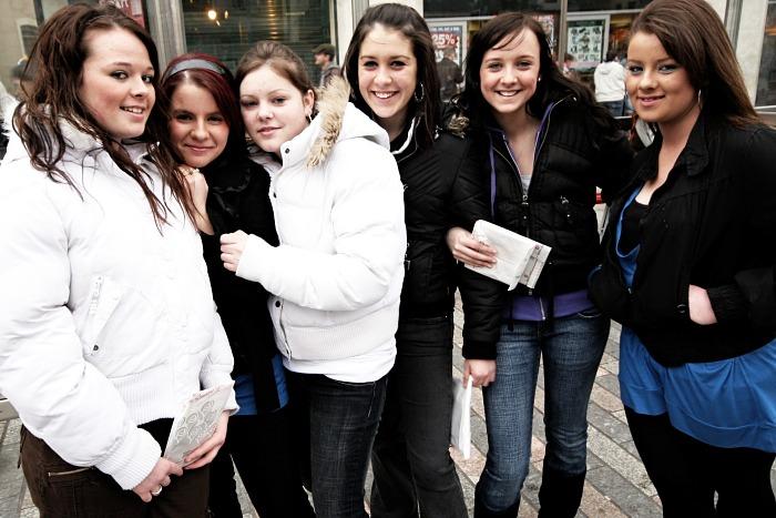 Girls on the street