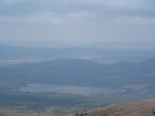 Loch Morlich - sett ifrån The Cairngorm
