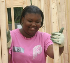 Homeowner, Joi.  What a nice Smile.