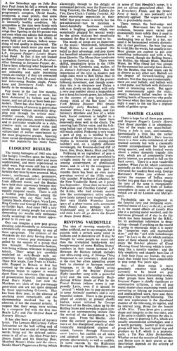 Times SPLHCB review, 1967