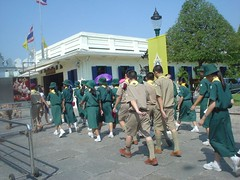 045.來皇宮參觀的童軍團