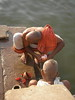 Bathing and Puja in the Ganga, Varanasi