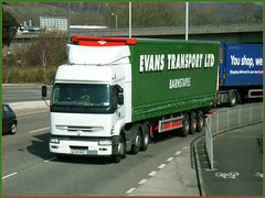 Evans Transport WJ55DPZ