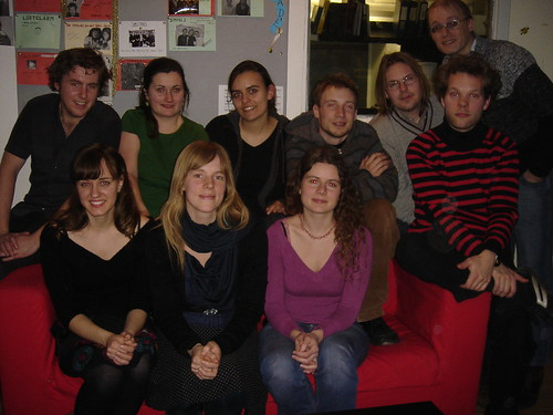 Editorial staff, university radio