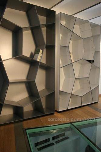 Bookshelf at Fuorisalone