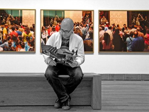 En la sala del nuevo Prado
