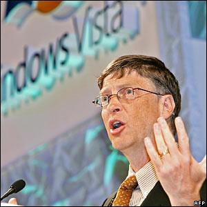 Bill Gates Vista