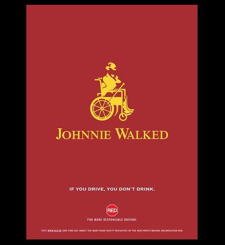 Johnnie Walker - Johnnie Walked by Reklamozder.