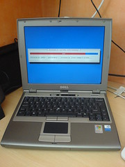 Dell D400 and Debian Installer