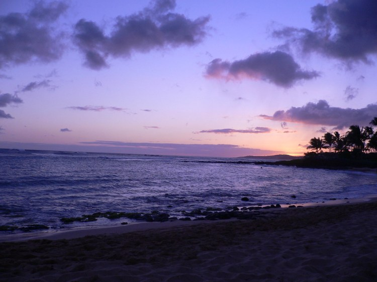 Poipu Beach Seunset