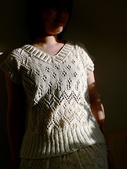 another completed knit front