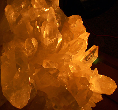 Glowing Crystals, Quartz Giant