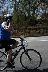 Biking and Talking on Cell Phone...