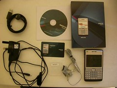 Nokia E61i - package contents