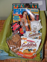 College gift baskets Boy