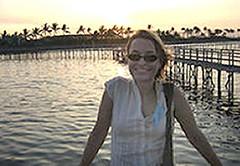 Peace Corp volunteer Julia Campbell