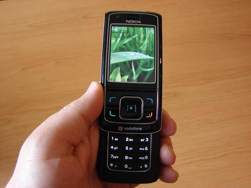Nokia 6288 en mis manos