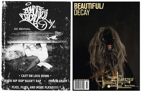Second Issue of Beautiful Decay  and Latest Issue Covers