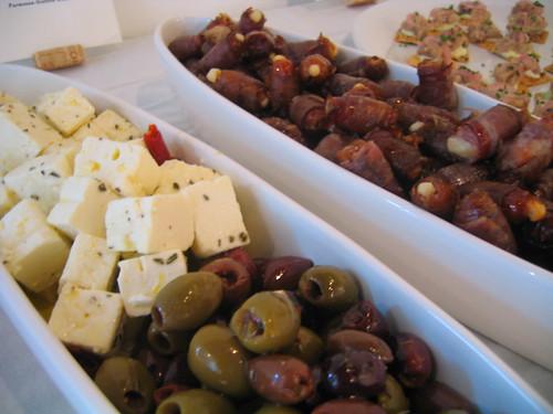 marinated feta & olives; roasted dates