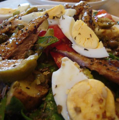 Not quite Nicoise Salad
