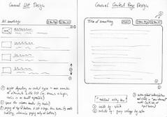 Sketch of Mindquarry 1.1 GUI