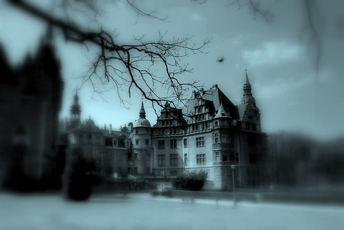 Kind of like Draculas castle in my dream...kind of