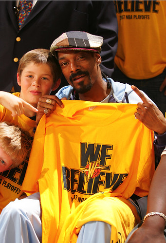 WARRIORS BELIEVE SNOOP DOGG