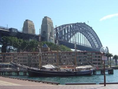 Sydney Harbour Bridge & Hyatt Hotel