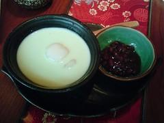 [吃] 和民居食屋 (11)_抹茶椰奶紅豆湯(白玉) (07.05)