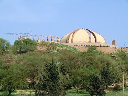 Pakistan Monument from Zero Point