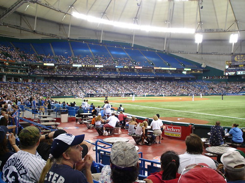 Yankees vs. Devil Rays