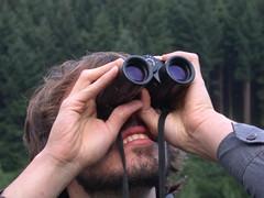 Milan with Binoculars