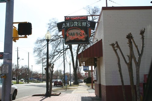 Andrew's Bar-B-Q in East Lake, just outside of B'ham
