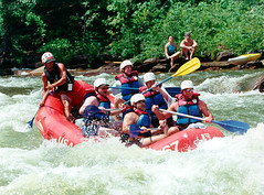 rafting on the Ocoee