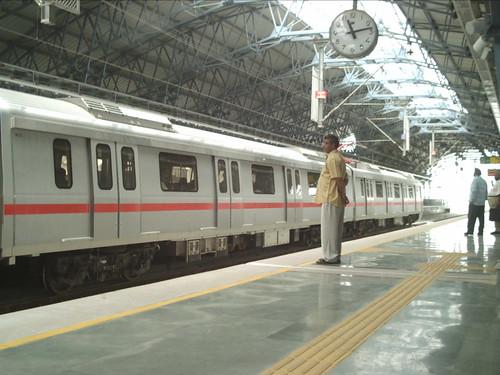 Delhi Metro @ Pitampura stop