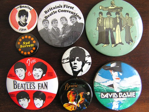 Rock music badges 5
