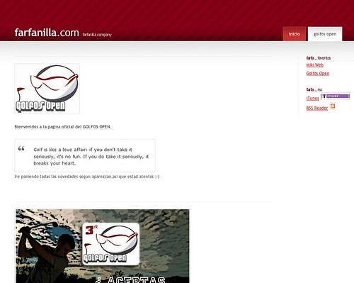 Golfos Open web