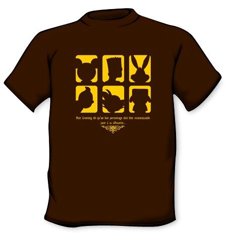 Camiseta Siluetas