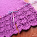 purple skirt from Knit cafe